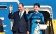 Hình ảnh Thủ tướng và Phu nhân đến Cộng hòa Áo