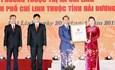 Công bố Nghị quyết thành lập thành phố Chí Linh