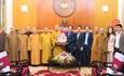 Giáo hội Phật giáo Việt Nam chúc Tết UBTƯ MTTQ Việt Nam