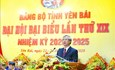 Đồng chí Trần Quốc Vượng dự khai mạc Đại hội Đảng bộ tỉnh Yên Bái lần thứ XIX