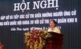 Phó Chủ tịch Trương Thị Ngọc Ánh tiếp xúc cử tri lực lượng vũ trang Quân khu 9