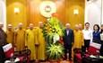 Chủ tịch Đỗ Văn Chiến chúc mừng Đại lễ Phật đản của đồng bào Phật giáo