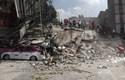 Hình ảnh tang thương sau trận động đất kinh hoàng ở Mexico