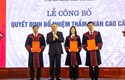Công bố quyết định của Chủ tịch nước về công tác cán bộ