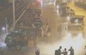 Phun tiêu độc toàn bộ không gian Bệnh viện Bạch Mai
