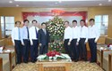 Phó Chủ tịch - Tổng Thư ký UBTƯ MTTQ Việt Nam Hầu A Lềnh thăm và chúc mừng Báo NTNN/Dân Việt