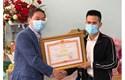 Anh Nguyễn Ngọc Mạnh nhận Bằng khen của Thủ tướng Chính phủ