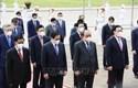 Lãnh đạo Đảng, Nhà nước vào Lăng viếng Chủ tịch Hồ Chí Minh, tưởng niệm các anh hùng liệt sĩ