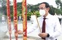 Dâng hương tưởng nhớ Chủ tịch Hồ Chí Minh, Chủ tịch Tôn Đức Thắng