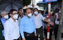 Chủ tịch nước kiểm tra công tác phòng, chống dịch tại TP Hồ Chí Minh