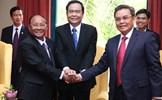 Chủ tịch UBTƯ MTTQ Việt Nam Trần Thanh Mẫn thăm hữu nghị chính thức Lào, Campuchia