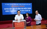 MTTQ Việt Nam ra lời kêu gọi quyên góp ủng hộ đồng bào miền Trung khắc phục hậu quả mưa bão