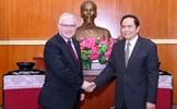 Chủ tịch Trần Thanh Mẫn tiếp Đại sứ Australia tại Việt Nam
