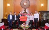 Văn phòng Chính phủ trao tiền ủng hộ nhân dân vùng lũ