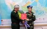 Chân dung nữ sỹ quan đầu tiên của VN tham gia lực lượng gìn giữ hòa bình LHQ