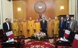 Chủ tịch Trần Thanh Mẫn tiếp Đoàn đại biểu Giáo hội Phật giáo Việt Nam