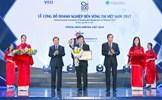 FrieslandCampina Việt Nam vinh dự được xếp hạng doanh nghiệp phát triển bền vững 2017