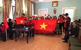 Trận cầu lịch sử của U23 Việt Nam kết nối những trái tim ở xa Tổ quốc