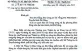 Sở TT-TT Đà Nẵng xin lỗi vì yêu cầu kiểm duyệt báo chí