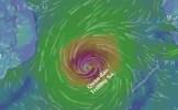 Bão Sanba có gió giật cấp 11 đang hướng thẳng biển Đông