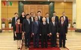Đại sứ, đại biện ngoại giao 9 nước ASEAN chúc Tết Tổng Bí thư