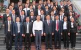 Chánh án Tòa án nhân dân tối cao Nguyễn Hòa Bình thăm và làm việc với Tòa án nhân dân hai cấp tỉnh Thái Nguyên