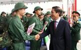 Thái Nguyên: 1.925 thanh niên lên đường nhập ngũ