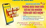 Nhận thông báo thay đổi số dư tài khoản tiền gửi tiết kiệm chỉ với 1 tin nhắn SMS
