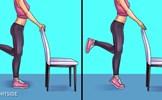 6 bài tập đơn giản giúp giảm cơn đau chân, hông và đầu gối hiệu quả