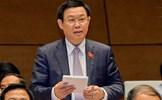 Phó Thủ tướng Vương Đình Huệ sẽ trả lời chất vấn của Quốc hội