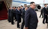 Hình ảnh đầu tiên của ông Kim Jong-un tại Singapore