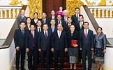 Thủ tướng tiếp Chủ tịch Ủy ban Trung ương Mặt trận Lào