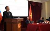 Đoàn đại biểu MTTQ và Quốc hội thăm Đại sứ quán Việt Nam ở Nga