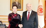 Chủ tịch Quốc hội hội đàm với Chủ tịch Quốc hội Thổ Nhĩ Kỳ