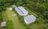 Toàn cảnh khu biệt thự của Mỹ Linh và đại công trường xây dựng trái phép trên đất rừng phòng hộ ở Sóc Sơn
