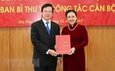 Công bố quyết định của Ban Bí thư TW Đảng về công tác cán bộ