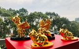 Quà tặng Tết 2019: Tượng Heo mạ vàng chào Xuân mới Kỷ Hợi có gì đặc biệt?