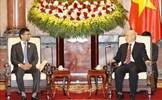 Tổng Bí thư, Chủ tịch nước tiếp Bộ trưởng Năng lượng và Công nghiệp UAE