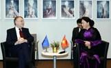 Chủ tịch Quốc hội tiếp Chủ tịch Ủy ban Thương mại quốc tế của EP