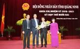 Quảng Ninh bầu tân Chủ tịch UBND tỉnh