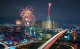 Khoảnh khắc rực sáng từ điểm ngắm pháo hoa đẹp nhất Sài thành