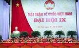 """Đại hội MTTQ khóa IX: """"Đoàn kết - Dân chủ - Đổi mới - Phát triển"""""""