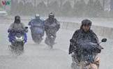 Các tỉnh miền Trung có mưa rào và dông