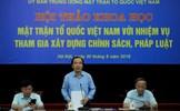 Vai trò của Mặt trận Tổ quốc Việt Nam trong xây dựng pháp luật