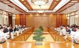 Tổng Bí thư, Chủ tịch nước Nguyễn Phú Trọng chủ trì họp Bộ Chính trị cho ý kiến về sửa đổi, bổ sung chức năng, nhiệm vụ của Ban Chỉ đạo Trung ương về phòng, chống tham nhũng và Ban Nội chính Trung ương