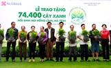 SeABank trao tặng 74.400 cây xanh hồi sinh núi Hồng Lĩnh – Hà Tĩnh