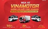 Mua xe Vinamotor không lãi suất cùng SeABank