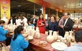Lễ công bố Điểm du lịch làng nghề Gốm Chu Đậu
