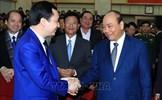 Thủ tướng Nguyễn Xuân Phúc dự Hội nghị tổng kết công tác năm 2019 và triển khai nhiệm vụ năm 2020 của Bộ Thông tin và Truyền thông