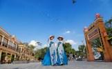 Vãn cảnh cầu an ở quần thể chùa nổi tiếng nhất Tây Ninh dịp Tết 2020